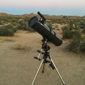 "My 8"" Scope in the desert!"
