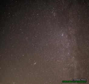 Cassiopeia, Andromeda, Perseus