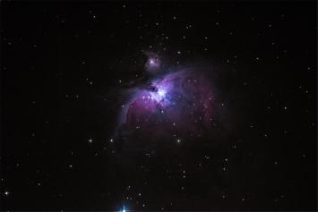 M 42 - Orion Nebula (20 second exposure)