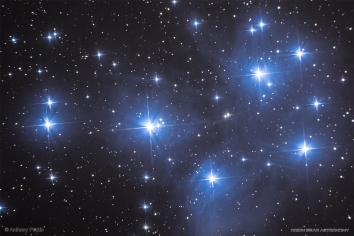 M45 - The Pleiades 12/19/2019