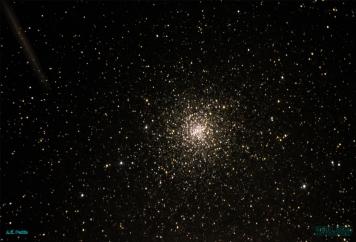 M4 w/ Lyrid meteor trail