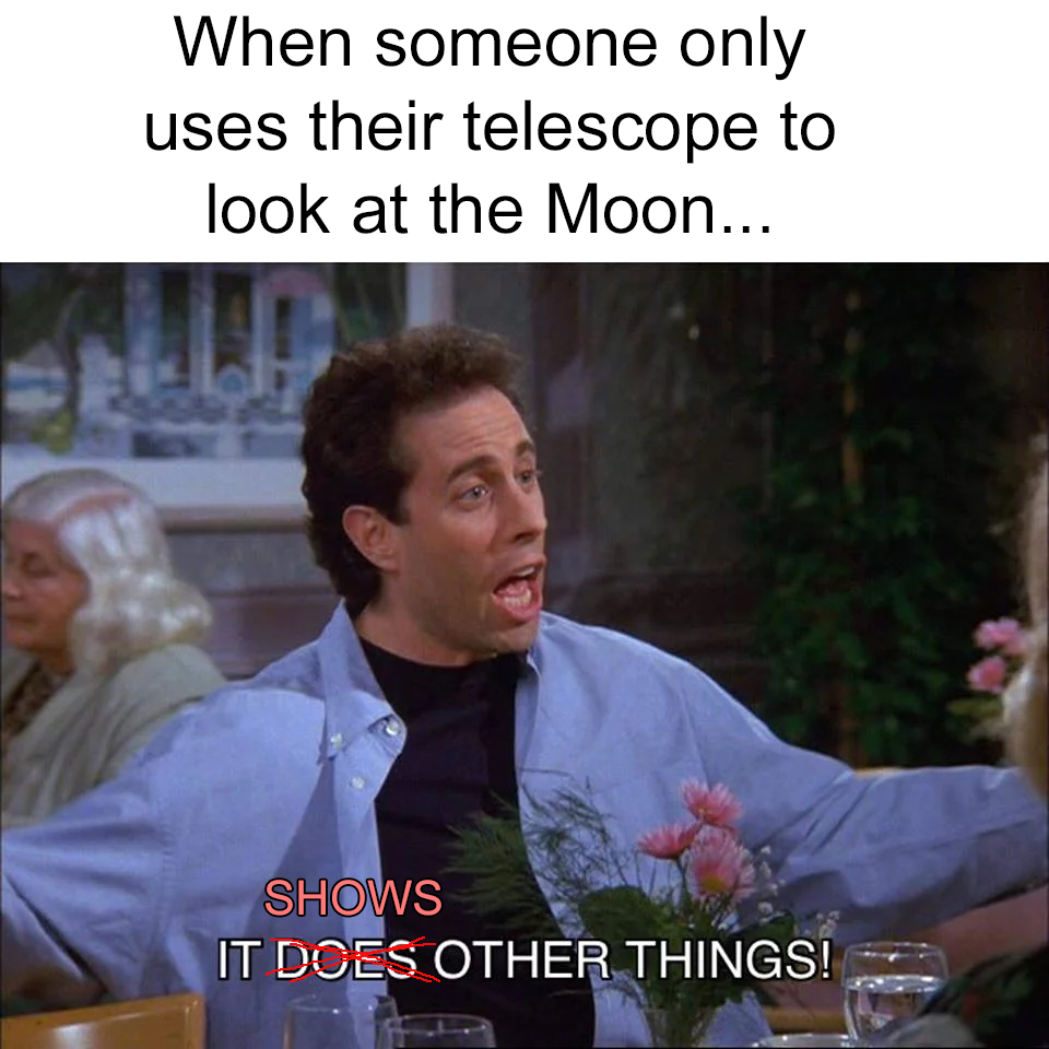 seinfeld it shows other things