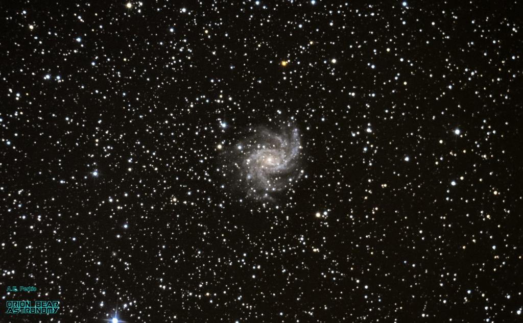 C12 / NGC 6946 - Fireworks Galaxy