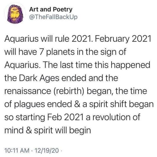 age of Aquarius fake